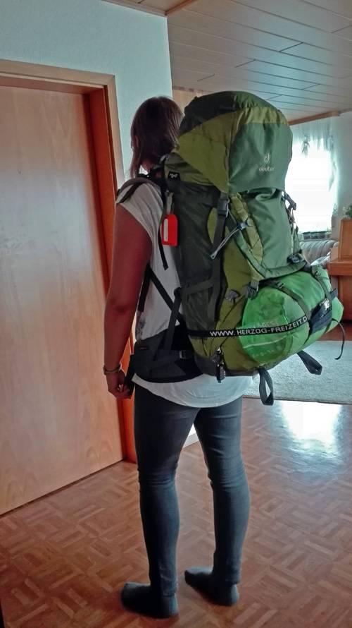 Deine Reiselust   Deuter Backpack