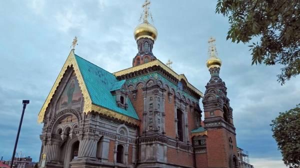 Kirche Hl. Maria Magdalena – Russische Orthodoxe Kirche in Darmstadt
