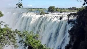 Victoria Wasserfälle in Sambia.