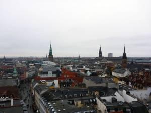 Aussicht vom Rundetårn auf Kopenhagen