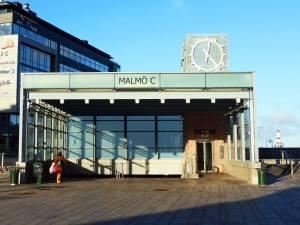 Haltestelle in Malmö