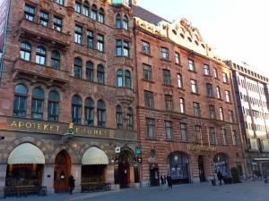 Apoteket Lejonet - die älteste Apotheke in Malmö