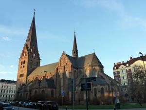 Sankt Petri kyrka in Malmö