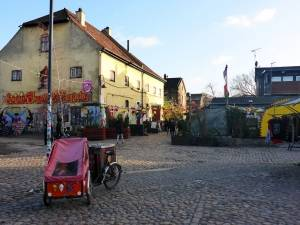 Pusher Street in Christiania