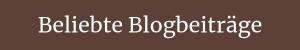 Beliebte Blogbeiträge
