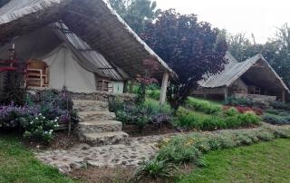 Eine beliebte Unterkunft in Rubavu: Die INZU-Lodge.