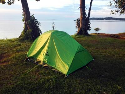 Zelten am Viktoria See - Mirembe Resort Beach